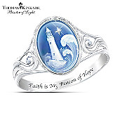 Thomas Kinkade Waves Of Hope Ring