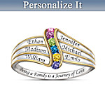 Womens Ring: Journey Of Love Personalized Ring