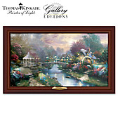 Thomas Kinkade Beyond Lamplight Bridge Wall Decor