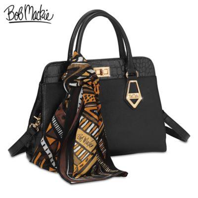 "Bob Mackie ""Rodeo Drive"" Satchel-Style Leather Handbag"
