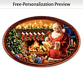 Cherished Christmas Memories Personalized Collector Plate