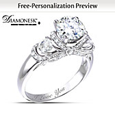 Once Upon A Romance Personalized Ring