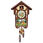 Cuckoo Clock: Charming Chihuahuas Cuckoo Clock