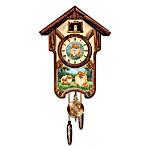 Cuckoo Clock: Pretty Pomeranians Cuckoo Clock