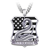 Don't Tread On Me Pendant Necklace