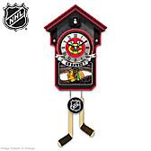 Chicago Blackhawks® Cuckoo Clock