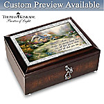 Thomas Kinkade Forever In Mother's Heart Personalized Music Box