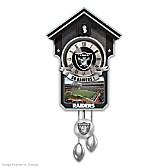 Oakland Raiders Cuckoo Clock