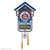 Chicago Cubs Cuckoo Clock