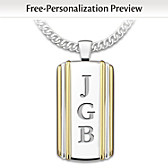 Always, My Grandson Personalized Pendant Necklace