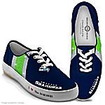I Love The Seahawks Womens Shoes