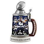 Seattle Seahawks Super Bowl XLVIII Champions Stein