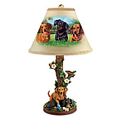 Darling Dachshunds Lamp