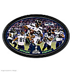Seattle Seahawks Super Bowl XLVIII Champions Collector Plate
