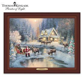 Thomas Kinkade Christmas At Deer Creek Wall Decor