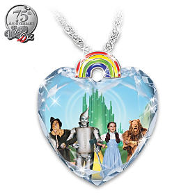 Over The Rainbow Pendant Necklace