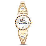 My Broncos Ultimate Fan Womens Wristwatch