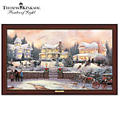 Thomas Kinkade A Victorian Holiday Wall Decor
