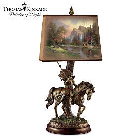 Thomas Kinkade Native Journeys Lamp