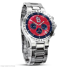 St. Louis Cardinals Men's Collector's Watch