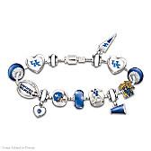 Go Wildcats! #1 Fan Charm Bracelet