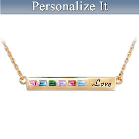 A Mother's Love Personalized Necklace