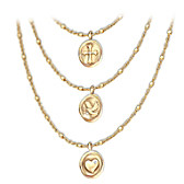 Heartfelt Blessings Diamond Necklace