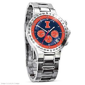 Fighting Illini Men's Collector's Watch