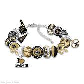 Fashionable Fan Saints Bracelet