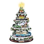 Heritage Christmas Train Christmas Tree