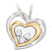 Window To My Heart Pendant Necklace