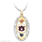 For The Love Of The Game Auburn Tigers Pendant Necklace