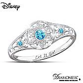 Disney FROZEN Enchanted Snowflake Ring