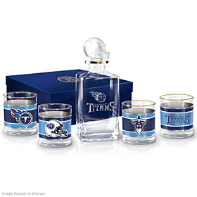 Tennessee Titans Decanter Set