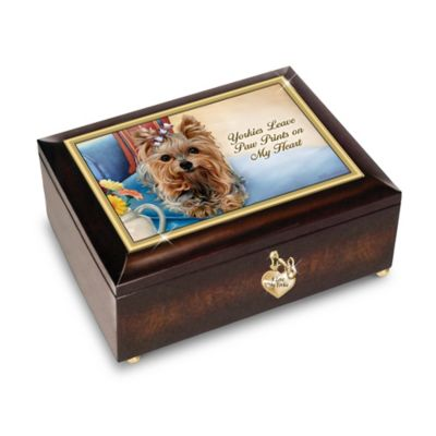 I Love My Yorkie Music Box