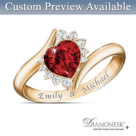 Sweetheart Personalized Ring