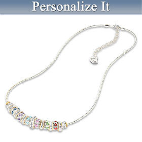 Family Celebration Personalized Necklace