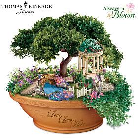 Thomas Kinkade Love Lives Here Table Centerpiece