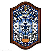 Dallas Cowboys Illuminated Stained-Glass Wall Decor