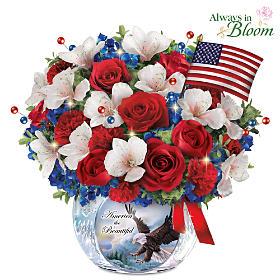 America The Beautiful Table Centerpiece