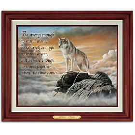 Strength Of Spirit Wall Decor