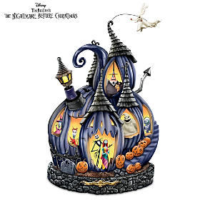 The Nightmare Before Christmas Pumpkin Sculpture