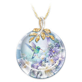 Nature's Tiny Miracle Women's Pendant Necklace