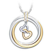With All My Heart Pendant Necklace