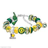 Oregon Ducks Fashionable Fan Bracelet