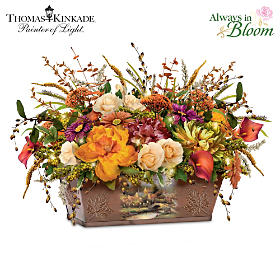 Thomas Kinkade Splendors Of Nature Table Centerpiece