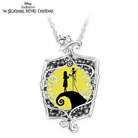 Disney The Nightmare Before Christmas Glowing Love Necklace