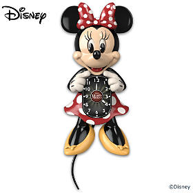 Disney Minnie Mouse Motion Wall Clock