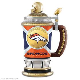 Denver Broncos Collector's Stein