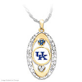 For The Love Of The Game Kentucky Wildcats Pendant Necklace